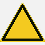 ISO Safety Signs Warning